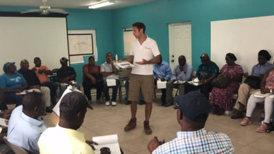Training local leaders in the Turks and Caicos