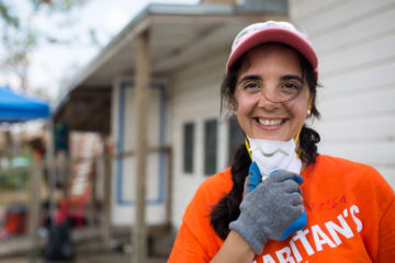 Vanessa, once an atheist, is now a follower of Christ and is helping Texas homeowners in His Name.