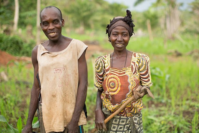 help a poor farming family