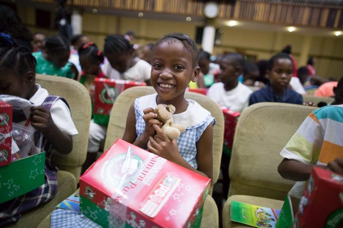 Please pray for the children from Barbuda who received shoeboxes. Pray that they will experience God's love and know that He has a plan for their lives.