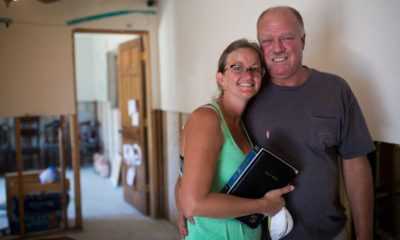 Kenneth and Dawn Vaughn had to flee their home in order to escape Hurricane Irma.