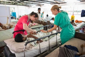 We are assisting Memorial Christian Hospital to care for Rohingya refugees.