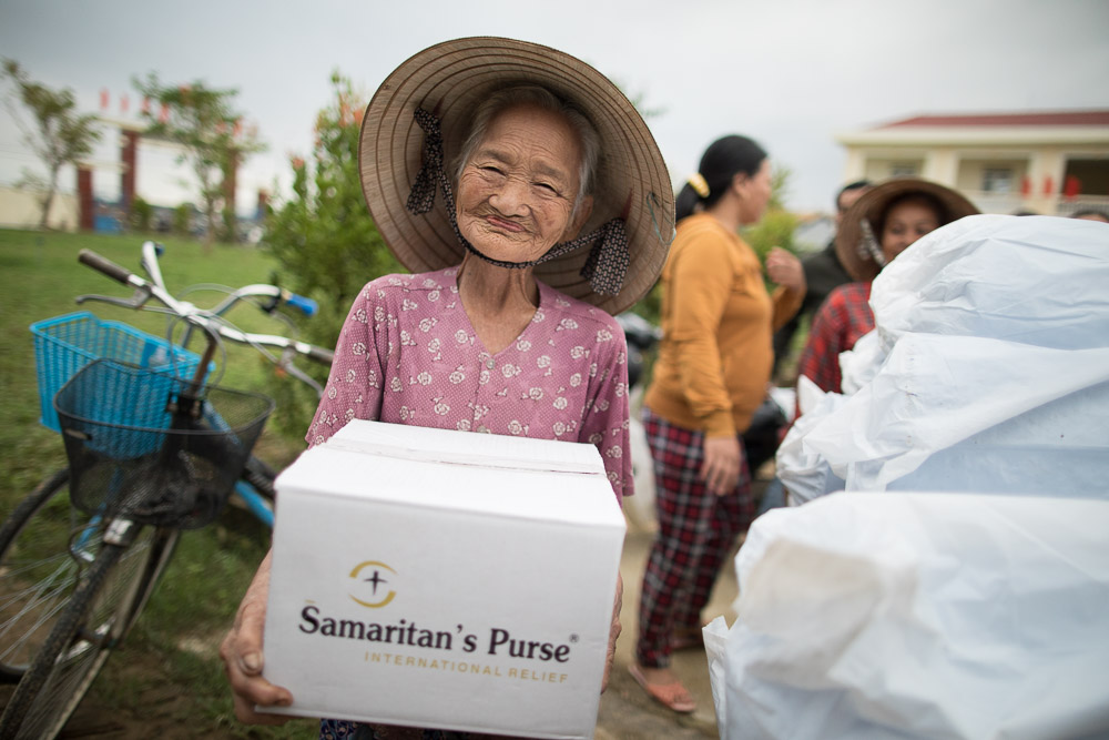 Responding to flooding in central Vietnam