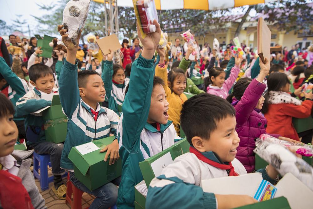 Operation Christmas Child in Vietnam