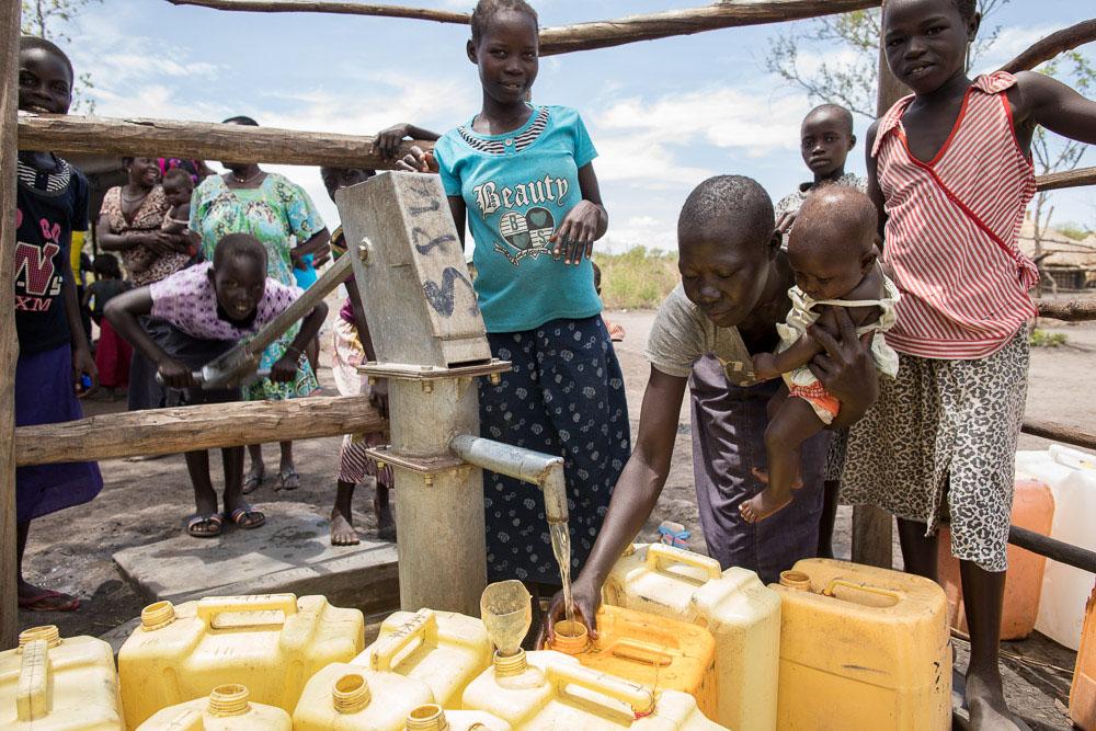 Responding to the South Sudan refugee crisis in Uganda