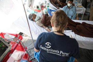 Samaritan's Purse medical personnel are busy caring for Rohingya refugees in Bangladesh.