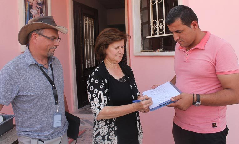 Another home completed in Iraq for a Christian family displaced by ISIS.