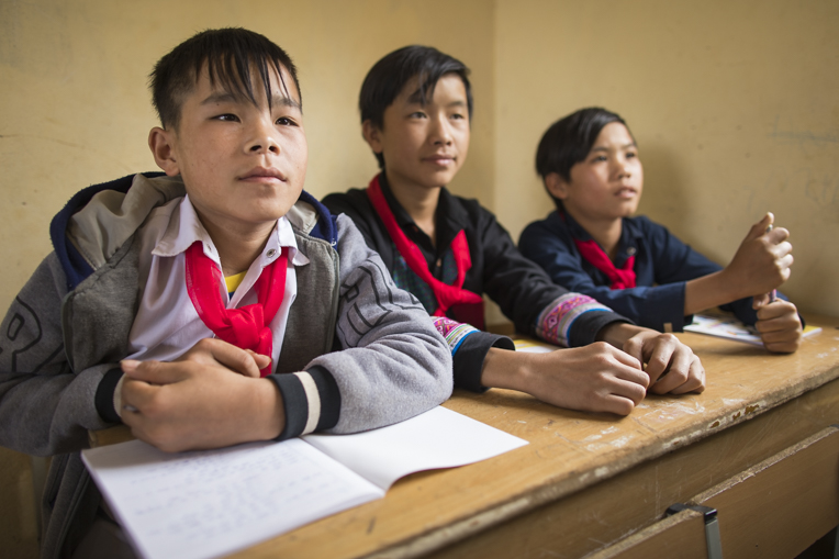 Vietnamese students in safe migration training
