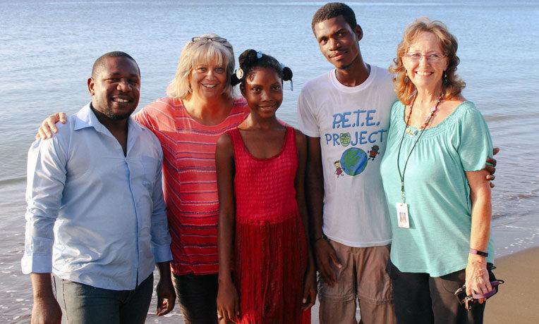 Baptism in Haiti