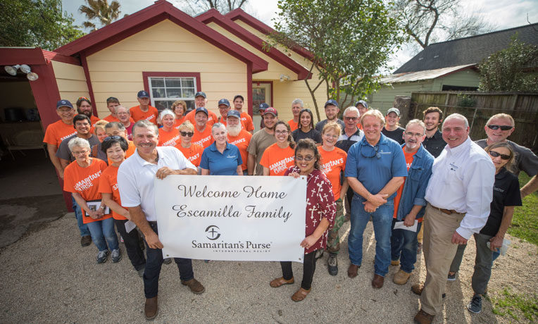Samaritan's Purse Builds 20 Homes for Families Displaced by Hurricane Harvey