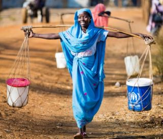 About 800 million people around the world wrestle every morning with the question of where they'll find clean water to drink.