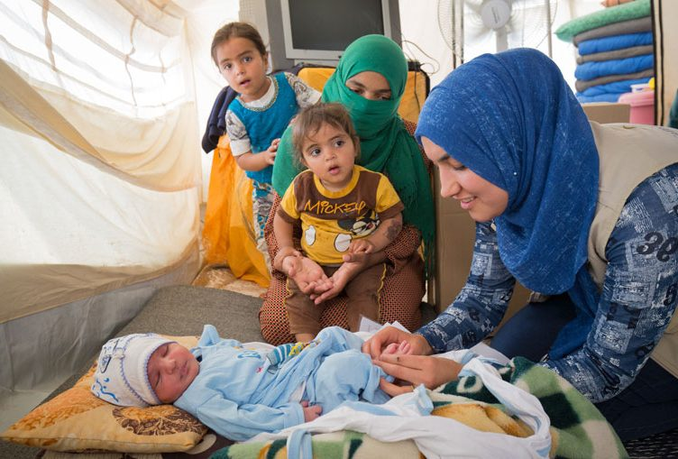 Child nutrition in Iraq