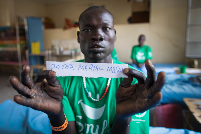 "Macheik returned to his village with a mended smile, faith in Christ, and a new name: ""Peter."""