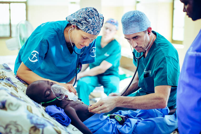 The medical team included experienced nurses and a pediatrician who provided compassionate care for young patients.