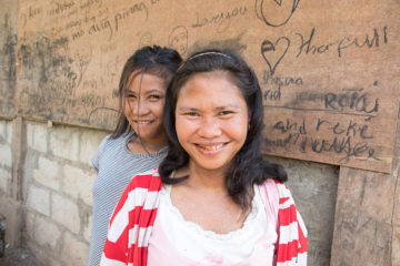Bibit and Mylin both came to faith in Jesus Christ last year in the Philippines.