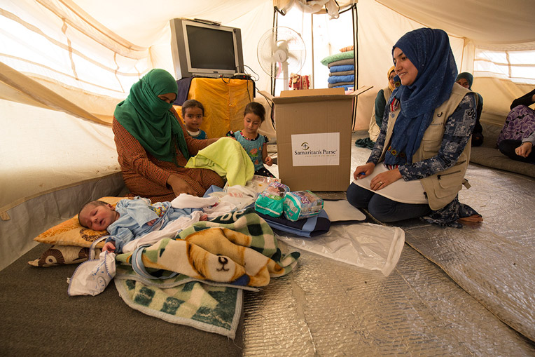 Infant children care ISIS refugee Iraq