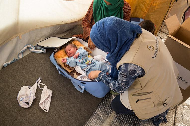 ISIS refugee health worker Iraq