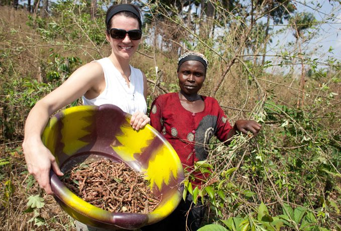 Cissie Graham Lynch has traveled widely to see how the work of Samaritan's Purse  is changing the lives of women and children. One of her most memorable experiences was helping a mother in Liberia gather food for the day.