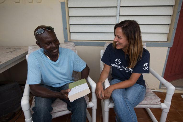 Bible presentation on Barbuda