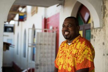 Pastor Nolan in the Caribbean