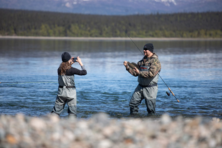 veterans fishing Alaska with Operation Heal Our Patriots