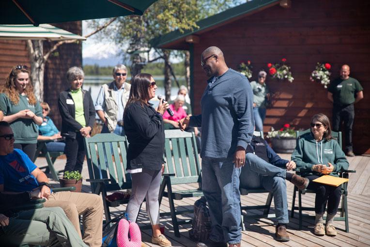 military marriage made stronger at Samaritan Lodge Alaska