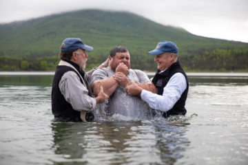 Marine Staff Sergeant Jeremiah Workman prayed to receive Jesus Christ as his Lord and Savior in Alaska and was baptized at Samaritan Lodge.