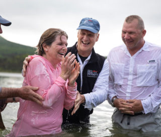 Marine Major Bob and Rebecca Schmidt were both saved and baptized during Week Two of Operation Heal Our Patriots. We praise God that five individuals were baptized and four couples rededicated their marriage.