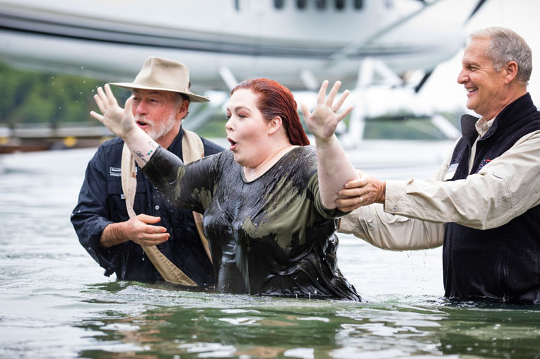 Whitney prayed to receive Jesus as her Savior in Alaska and was baptized. Her husband, Army Specialist Jacob Ellison, rededicated his life to Jesus and was also baptized.