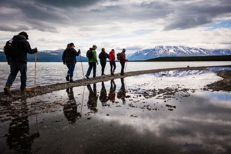 Alaska provides a beautiful, picturesque backdrop for our military couples to enjoy each year during Operation Heal Our Patriots.