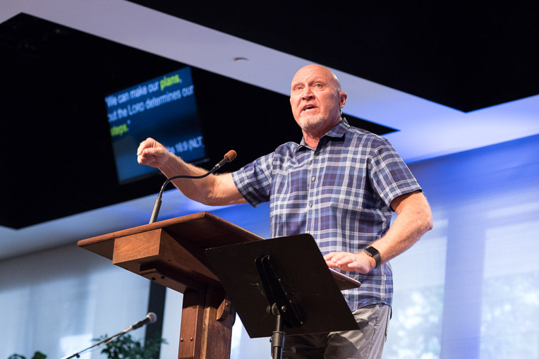Pastor Tom Allen of Crosspoint Church in Pearland, Texas