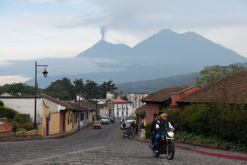 Volcano Fuego recently erupted displacing thousands of people.