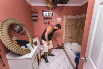 When Julian Quintana Jr. woke on June 20 he was surrounded by water 18 inches high. It left walls and belongings in disrepair.