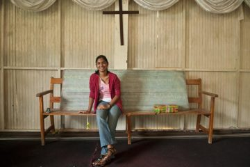 Felicia (pictured at age 17, now 25) and her entire family accepted Jesus Christ and worked to plant a church in their town.