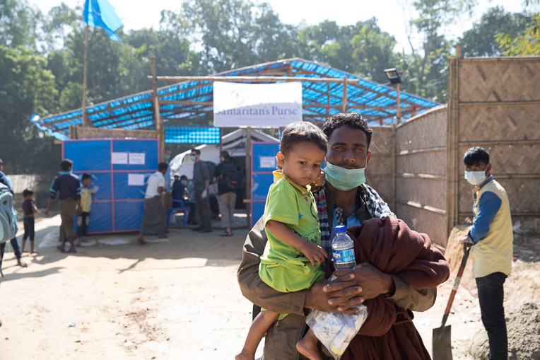Samaritan's Purse opened a Diphtheria Treatment Center in Bangladesh to serve Rohingya refugees in desperate need of medical care.