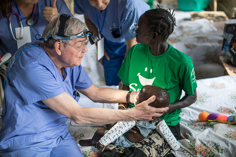 Our medical teams performed cleft lip surgeries for 87 patients at Juba Teaching Hospital in South Sudan.