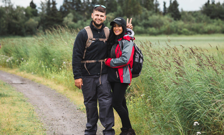 Marine Sergeant Nick Hine and his wife Bree believe God worked wonders in their lives and marriage last week in Alaska.