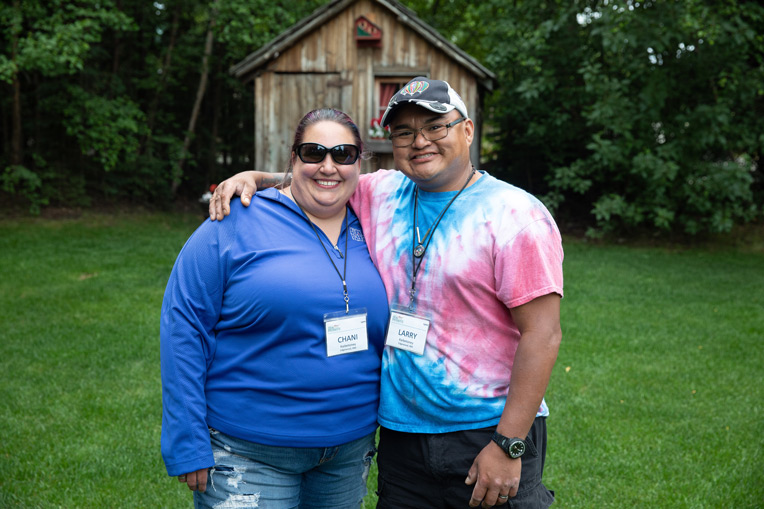 """Army Sergeant Larry Kaibetoney and his wife Chani said their week at Samaritan Lodge was powerful for their growth as Christians and as a couple. 'I can't put into words just how much this week has meant to us,"""" Chani said."""