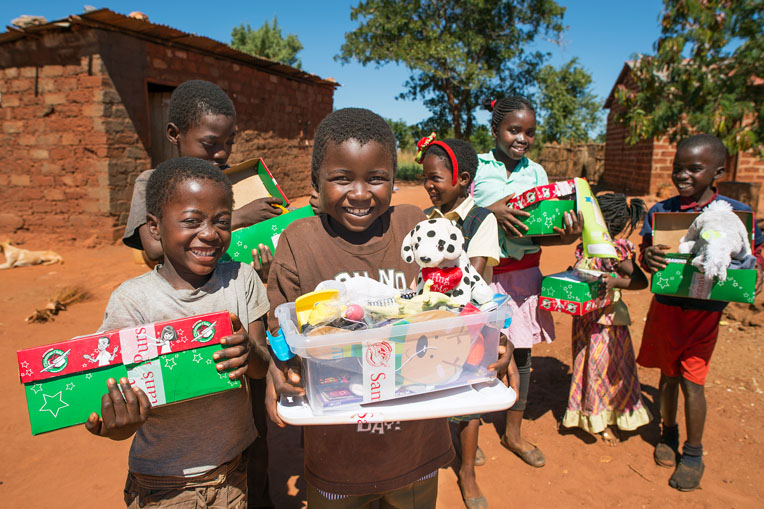 Gift-filled shoeboxes have brought the hope of Jesus Christ to 3 million children in Zambia.