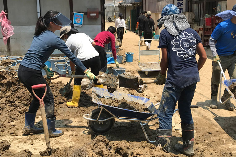 Our disaster assistance response team in western Japan helped mobilize local churches to assist hurting homeowners in the aftermath of deadly floods.