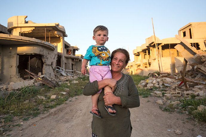 While Christian families have returned to Qaraqosh to find rubble, Samaritan's Purse is helping them rebuild.