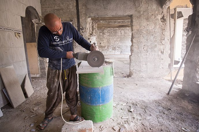 Samaritan's Purse is working with local contractors to repair homes of persecuted Christians on the Nineveh Plains.