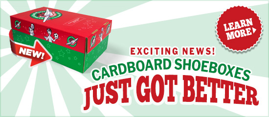 Get Your Preprinted Shoeboxes Today