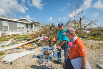 Our teams began assessing needs in devastated communities.