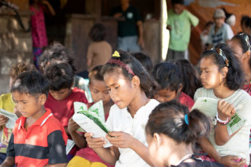 More than 40 children in the village came to faith in Jesus Christ during The Greatest Journey. They still continue studying the Bible every Sunday.