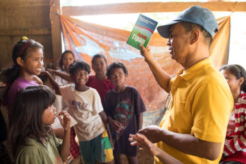 Pastor Toti Ramos continues coming to the village to teach the Bible a year after The Greatest Journey was finished.