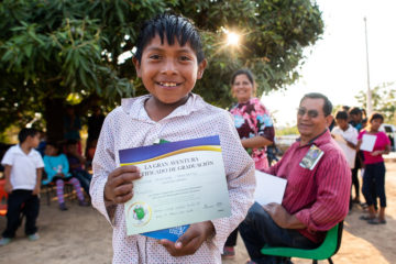 "class=""size-medium wp-image-97670"" /> Mauricio is one of nearly 80 children in the remote mountain village of La Laguna, Mexico, who have graduated from The Greatest Journey and are sharing God's Word with their families."