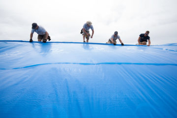 Samaritan's Purse rebuild teams are working throughout Puerto Rico helping repair and rebuild homes and churches.