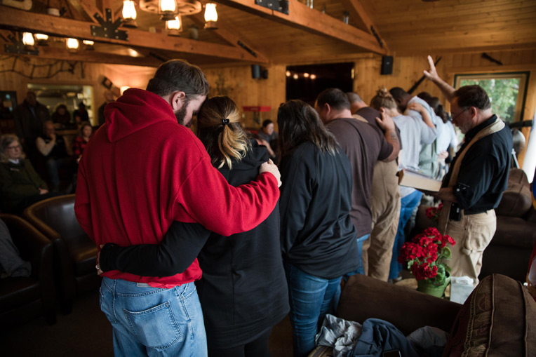 Five couples rededicated their marriage to God last week at Samaritan Lodge.