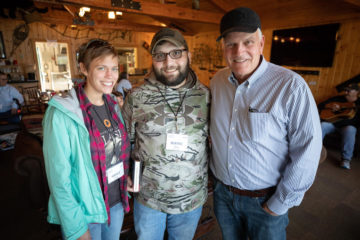Wayne and Grace were encouraged by their visit with Franklin Graham.